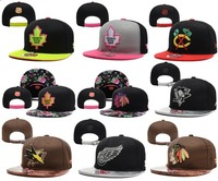 Free shipping! NHL Snapback caps men street hip hop Floral bone hats flat-brimmed cap hat  neymar  High quality!