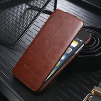4.7 inch Phone Case, Luxury Crazy Horse Leather Case For Apple iPhone 6 High Quality Flip Leather Case For iPhone6 Classic color