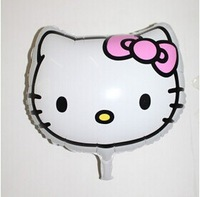 The new cartoon balloon toy wholesale children's birthday party balloons decorated Hello Kitty head