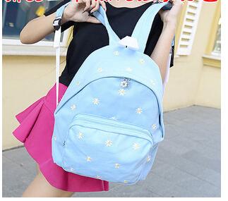 2014 fashion canvas backpack mochila feminina women backpack school bags for girls children cute backpacks free shipping(China (Mainland))
