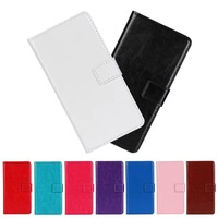 2Pcs Lot Crazy Horse Wallet Style Flip PU Leather Card Holder Case Cover  For Huawei Ascend Y300  Touch Pen As Gift