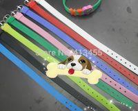 100pcs/lot 8mm wide mix colors silicone wristband bracelet fit for 8mm slide letter
