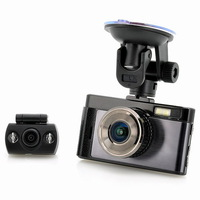 2014 New GT100 FHD Car DVR - 3 Inch TFT Screen, 140 Degree Angle, Rear View Camera, 32GB Micro SD Slot, 5MP CMOS