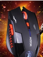 3 years free battery changes dark falcon wireless mouse Silent button game performance