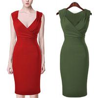 2014 Woman Summer Cotton Dress Lady Knee-length Strapeless dresses Bodycon 2 Colors S,M,L, XL,XXL Fashion & Sexy D96New arrival