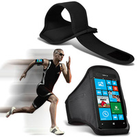 For iPhone 4s Sports Armband Case for iPhone 4G 4s GYM Running Arm Band Pouch Case Neoprene Mobile Phone Bags