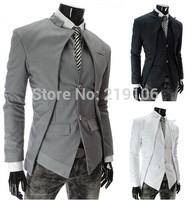 Winter hot models big yards fashion asymmetrical jackets discount men's suit men's suits
