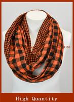laid infinity scarf, flannel Infinity Scarf -Circle Scarf -plaid Loop Winter Scarf