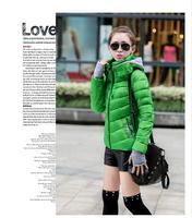 2014 winter new women short down jacket thick, feather cotton women Parkas women padded clothes filler - Cotton, 6 colors