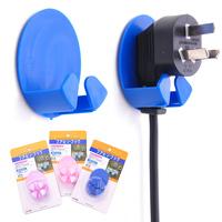 (Min order is $10) Plug hook plug rack adhesive hook 2 c446