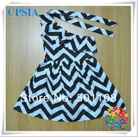 Wholesale 2014 new fashion one-shoulder  baby dress  Free Shipping 24pcs/lot