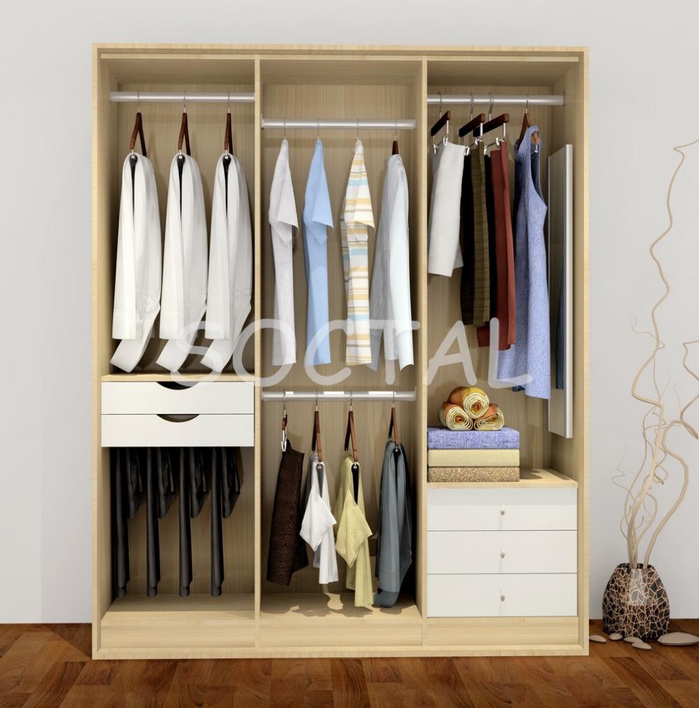 Mobiliário personalizado estilo europeu 2 portas de madeira armário de correr crianças guarda-roupa(China (Mainland))