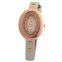 New arrival 2014 European American style women dress wristwatch rose gold analog with rhinestone watch quartz watch JW1696