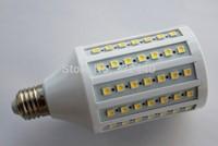 SMT hot 102pcs SMD5050 20W LED Bulb lamp E27  Corn light AC220V 1200lm Warm White indoor room useFREE SHIPPING