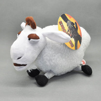 """Free Shipping How To Train Your Dragon Toothless White SHAUN Plush Toy Doll 8"""""""