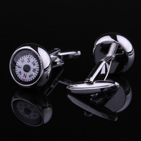 Copper  Free shipping NEW hot  Men's Crystal Cuff Links Wedding Party Vintage Cufflinks NC0074