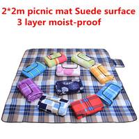 200*200cm Large camping blanket, Hiking mattress for family 4-5-people use picnic mat waterproof mat KR001