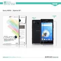 NILLKIN screen protector free shipping Super clear HD anti-fingerprint protective film for SONY M35h Xperia SP