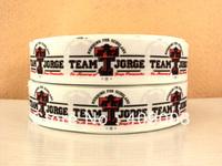 10Y7809 kerryribbon free shipping 1 '' printed ribbon Grosgrain ribbon