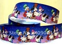 10Y729 kerryribbon free shipping 1 ''Merry Christmas ribbon Grosgrain ribbon