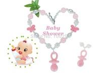 Handmade Chunky Bubblegum Pacifier Pendant Baby Necklace KJ027