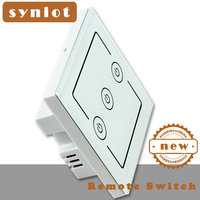 Syniot Smart, remote touch switch, 3 gang White glass touch Led Switch, luxury Led sensor 86 style touch switch, Discount