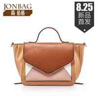 Women Handbag Rushed Limited Freeshipping Flap Pocket Bolsa Women's Bags 2014 Wings Package Cowhide Cross-body Handbag Big Bag