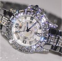 2014 New Arrival Women Watches! Austrian Crystal Full Rhinestone Watches Luxury Women Dress Watch! Fashion Diamond Wristwatches