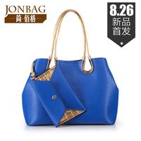 Women Handbags Hot Sale Real Freeshipping Silt Pocket Large(>50cm) Bag Bolsa Women's Handbag 2014 Envelope Picture Package Ol