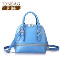 Women Handbags Rushed New Freeshipping Silt Pocket Small(20-30cm) Zipper Bolsa 2014 Women's Handbag Color Shell Bag Mini Smiley