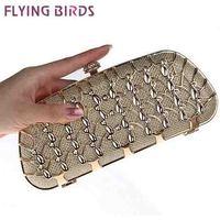 FLYING BIRDS! free shipping Women bags Stereoscopic women messenger bags popular evening bag clutch famous brand pouch LS3746c