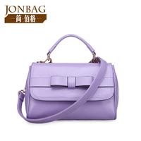 Women Handbags New Arrival Rushed Freeshipping Bolsa Bolsas Color Jelly Bag 2014 Women's Handbag Sweet Bow Solid Mini-package