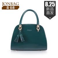 Bolsa Promotion Special Offer Freeshipping Hard Women Handbags Women's Small Bags 2014 Handbag Tassel Cowhide Bag Shaping Bucket