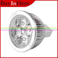 Energy Saving 4W 4x1w Cool/Warm White Light Lights Spotlights MR16 High Power focus LED spot Lamp Bulb 12V