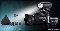 "2014 Newest  D3300 Digital Camera DSLR 16MP 16X Digital Zoom  21X Optical Zoom Telephoto Lens,3.0""LCD,Free Shipping Via EMS/DHL"