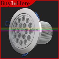 Energy Saving 18W AC 85-265V 18*1W LED Ceiling Cabinet Recessed Spot Light Lamp Bulb Warm/Cool White Down SpotLight 110V 220V