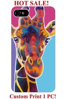 unique designer hand drawing giraffe animal design pattern print 5 5S 5C 4 4S  cover for iphone 5S case giraffe print