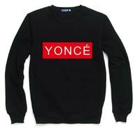 YONCE Letters Print Sweatshirt For Women Men Casual Hoody Pullover Spring Autumn Moleton Feminino S-XXL ZY123-59