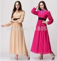 Muslim Hui ethnic Arab robes, new loose Arabian women robes, 5sets/pack