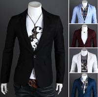 2014 fashion men's cultivate one's morality Business suit /Men's leisure suit / Men's high-end Blazers