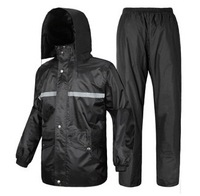 Free Shipping!Thicken Split Raincoat Rain-proof Pants Set Car Battery Motorcycle Electric Bicycle Fashion Poncho