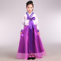 love with dance Children's hanbok Korean dance in children's wear clothing ethnic costumes clothing present student performance