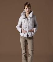 2014 new European and American atmosphere thick down jacket women short paragraph Slim waist designer style  NDZ134 Y9W