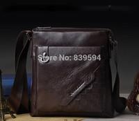 First layer of leather men's business shoulder bag leisure bag man bag new special leather messenger bag