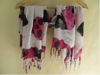 Special supply embroidered cotton scarf wool scarf, Arab scarf scarf staller liking, 30pieces/pack