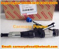 Original New HINO P11C Injector 095000-521# /095000-5215 /095000-5214/095000-5213/095000-5212/095000-5211 OE NO. 23670-E0351
