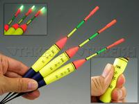 3Pcs 11g #3.0 float + 10Pcs Glow stick THKFISH Fishing Floats Luminous Lighting Foam Floats