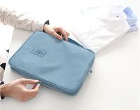 Free shipping men's travel bags nylon solid packing organinzers men shirt bag fpr tie 36*26*5cm waterproof