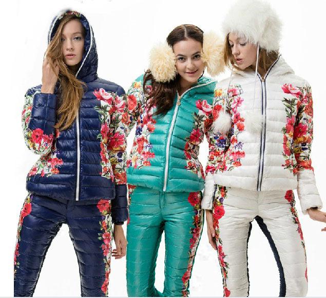 Спортивная Зимняя Одежда Женская