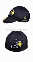 Black Le tour de france Team Cycling Cap Clothing Hood Bike Riding Sportsweart Headgear Windguard Sweat hat cool Sportswear